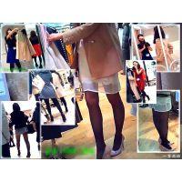 レディースファッションフロアを歩いて綺麗なおねーさんを観察する