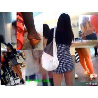 ショッピングモールを徘徊して綺麗な美脚や足先をウォッチングする