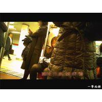 地下鉄のホームで靴パカをしていた黒タイツOLを観察 居眠り編