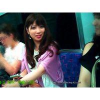 電車で見かけたハムスターのように可愛い目をした女の子をずっと観察