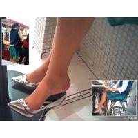 品のあるおねーさんの美しすぎる足先と靴脱ぎシーンを観察する
