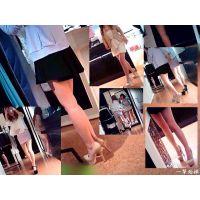 スーパーモデル級の美脚を揃えた服屋に買物に行ったらマジ美脚だらけ