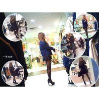 服売り場でひときわ美しい脚線美で歩き回っていた薄黒パンストのおねーさん