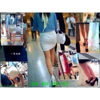 地下街やショッピングモールで見かける細めな美脚嬢を追跡観察する1