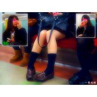普通にソックス履いてるだけの健康美脚のJ○の内股姿が可愛いかった