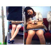 口リフェイスの女○大生が寝落ちの間に股間部分をガン見して興奮した