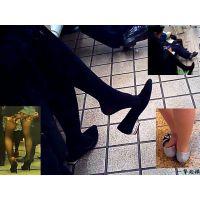 どこでもパカパカ!女性が靴をパカッと脱ぐ瞬間にかなり興奮します