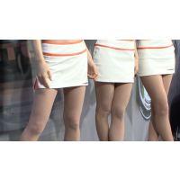 2007東京オートサロン、キャンギャルの美脚・フェチ動画(HD版)vol.79