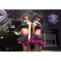 2007東京オートサロン、キャンギャルの美脚・フェチ動画(HD版)vol.73