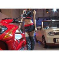 2009東京オートサロン、キャンギャルの美脚・フェチ動画(HD版)vol.77
