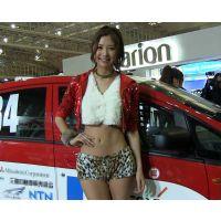 2013東京オートサロン、キャンギャルの美脚・フェチ動画(フルHD画質)vol.117