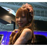 2013東京オートサロン、キャンギャルの美脚・フェチ動画(フルHD画質)vol.119