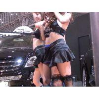 2006東京オートサロン、キャンギャルの美脚・フェチ動画(HD版)vol.67