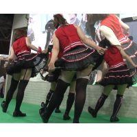 2012東京ゲームショウ・キャンギャルの美脚・フェチ動画(フルHD画質)vol.100