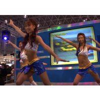 2008東京オートサロン、キャンギャルの美脚・フェチ動画(HD版)vol.64