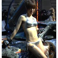 2014東京オートサロン、キャンギャルの美脚・フェチ動画(フルHD画質)vol.141