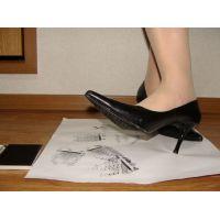 287パンプス画像 プレーンピンヒールパンプス 靴底系