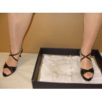 112サンダル画像 高価なサンダル 雑巾踏み
