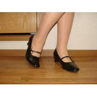 589パンプス画像 本革パンプス 靴底系