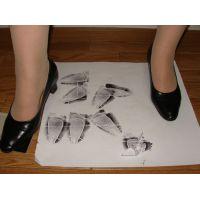 286パンプス画像 プレーンパンプスヒール高め 靴底系