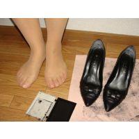 526パンプス画像 ダイアナの本革りぼんパンプス 靴底
