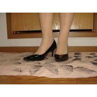 415パンプス画像 新規購入ピンヒールパンプス 靴底系