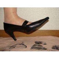 477パンプス画像 靴底スタンプ5