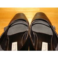 1065パンプス画像 仕事履きパンプス 靴中