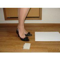 638パンプス画像 ダイアナの本革りぼんパンプス 靴底系