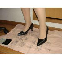 414パンプス画像 新規購入プレーンパンプス 靴底系