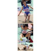 夏の陸上競技女子 08