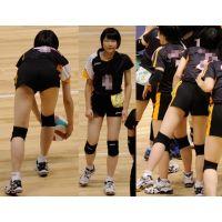 女子バレーボール大会 04 細身短パン