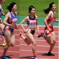 夏の陸上競技女子 10