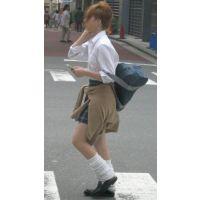 街角制服女子高生