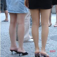 The素足&ヒール(つま先&かかと)素足にサンダル!ミュール!ヒール! No9