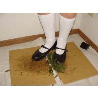 HARUTAのストラップ靴2_043 踏み潰し 2/2