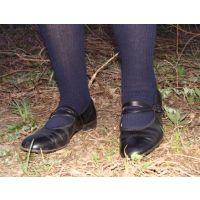 Marianne 058 ストラップ靴で踏み潰し