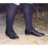 Marianne 057 ストラップ靴で踏み潰し