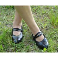 Marianne 059 ストラップ靴 外撮影