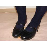 HARUTAのストラップ靴2_056 ストラップ靴 踏み潰し