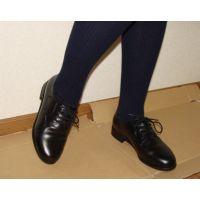 革靴001 レトロな感じの靴