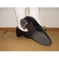 ヒール革靴005 レトロな感じの靴