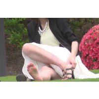 モデル撮影中のかわいい女の子を撮影〜動画〜