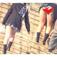 いわゆるミニスカの女の子動画13 〜激ミニ歩くだけでチラ〜