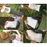 公園でセクシー3 〜動画〜 パンチラ透けブラしまくり女子
