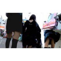 竹下通り【ローアングル追跡】