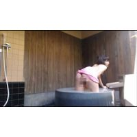 【59】露天風呂温泉でオナニー