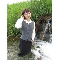 お水遊び&癒し5−4(OL制服)