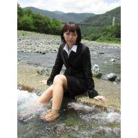 お水遊び&癒し5−2(リクルートスーツ)