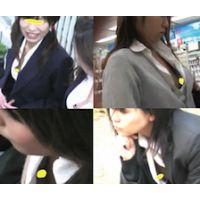 【チラリズム】制服姿で乳首チラ Vol.1